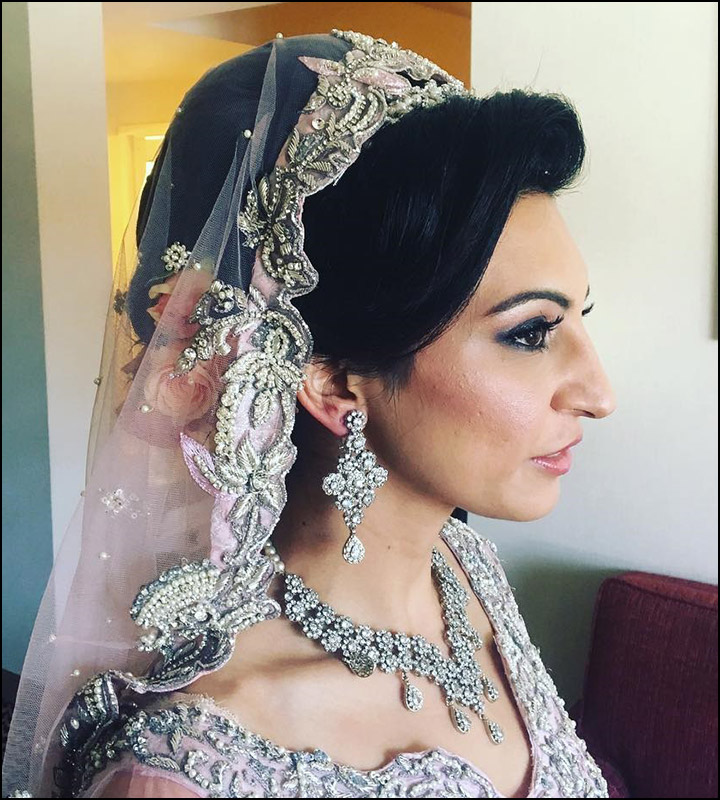 Simple Indian Hairstyles: Indian Bridal Hairstyles: The Perfect 16 Wedding Hairdo Pics