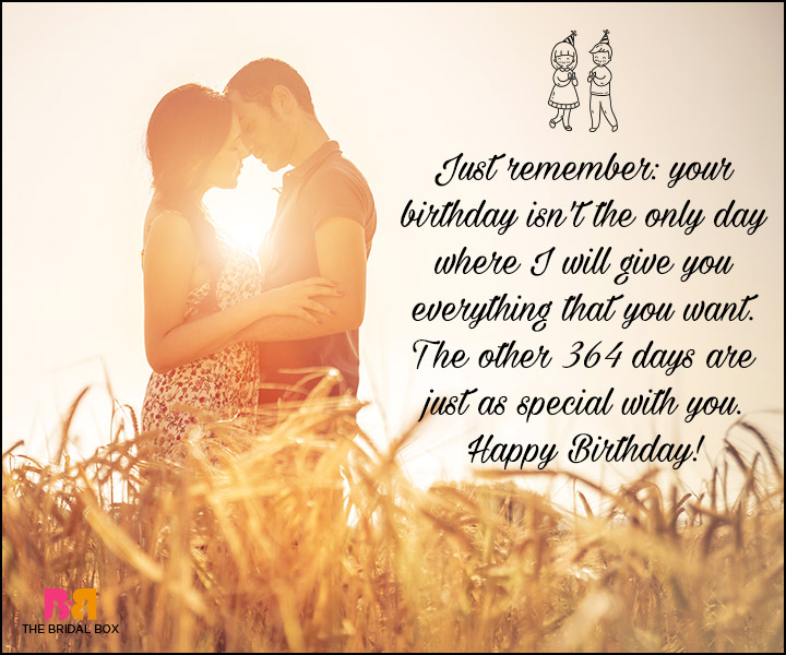 Birthday Love Quotes For Him: The Special Man In Your Life!