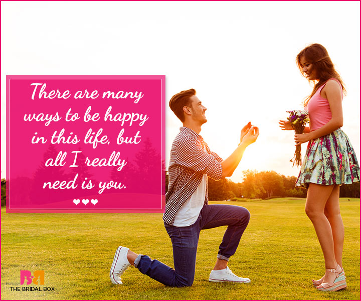 Best Marriage Proposal Quotes That Guarantee A Resounding \'YES\'