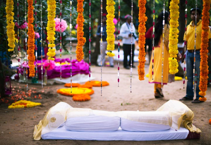 South Indian Wedding Flower Decorations