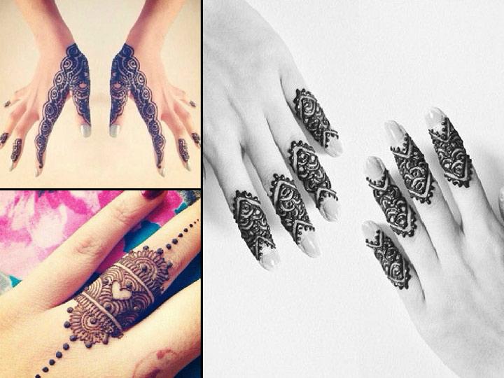 Mehndi Patterns For Fingers : Arabic mehndi design for fingers top picks of