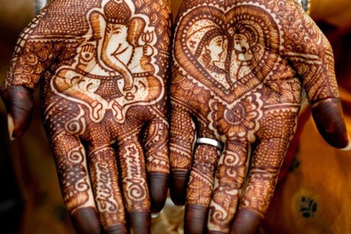 Mehndi For N Brides : Gujarati bridal mehndi designs: 19 best styles that stand out