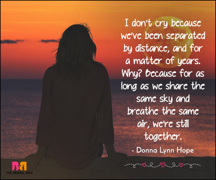 Long Love Quotes For Her: 18 Long Distance Love Quotes For Her To Make An Impression