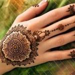 6 Arabic Mehendi Designs