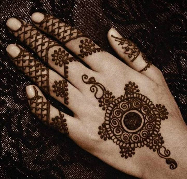 Heart Mehndi Designs 2015 : Mehndi designs for back hands arabic the top picks