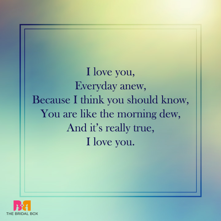 I Love You More Poem: 10 Utterly Romantic I Love You Poems For Her