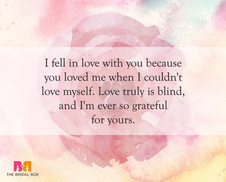 10 Of The Best Love Is Blind Quotes For Lovers