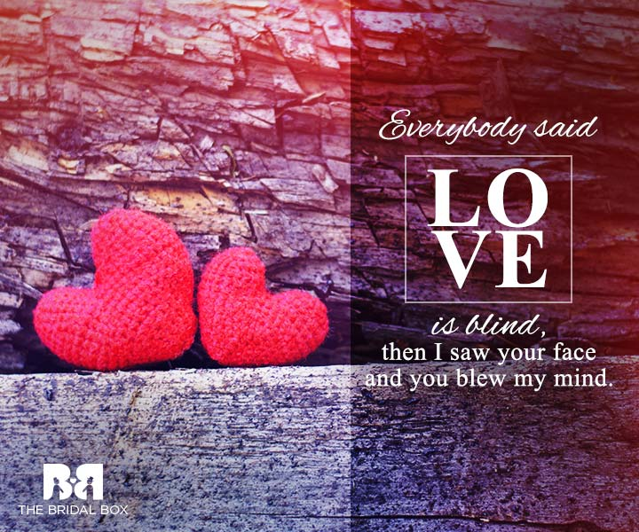 Love Is Blind Quotes Beauteous 48 Of The Best Love Is Blind Quotes For Lovers