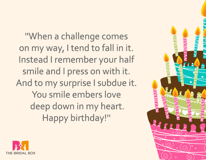 Birthday Love Quotes 1