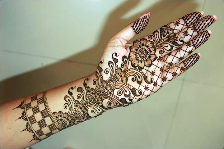 Arabic Bridal Mehndi Designs For Hands: 34 Trending Styles