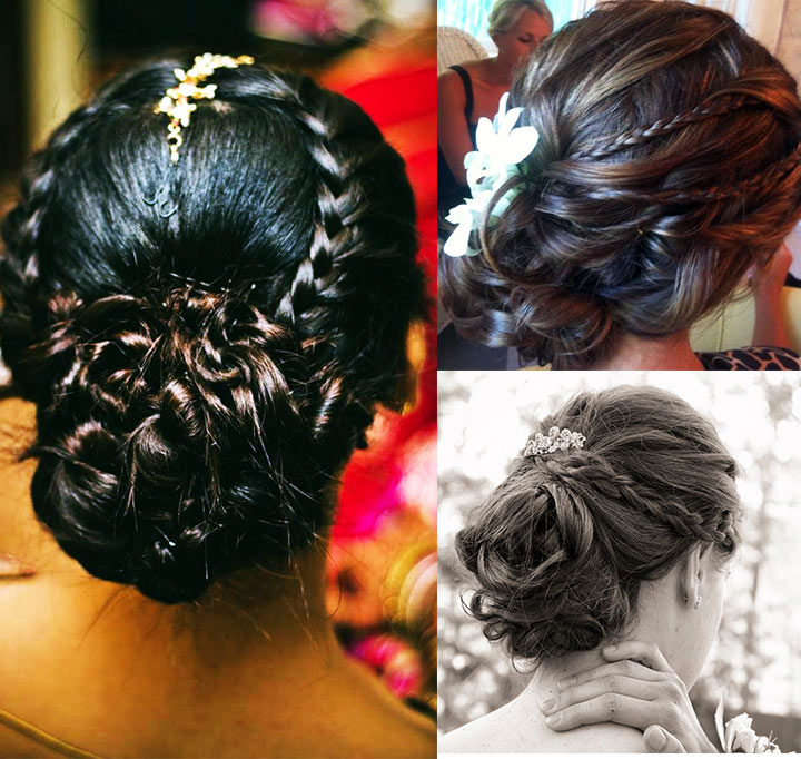 10 Braided Hairstyles For Long Hair: 10 Indian Bridal Hairstyles For Long Hair