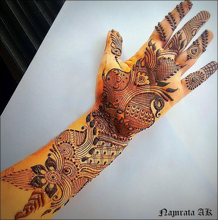 Mehndi Designs Grand : Arabic bridal mehndi designs for hands top trending