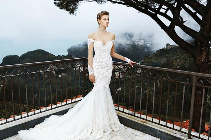 bbea9a3d1f7f 7 Glamorous Mermaid Wedding Dresses To Feel Like Marilyn Monroe