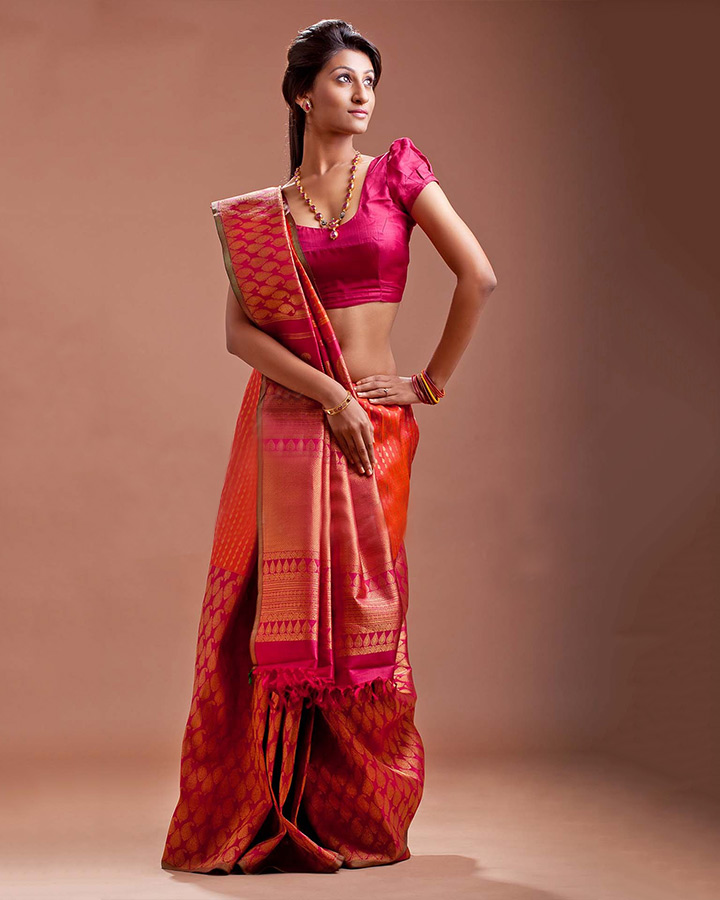 2 1 South Indian Bridal Sarees