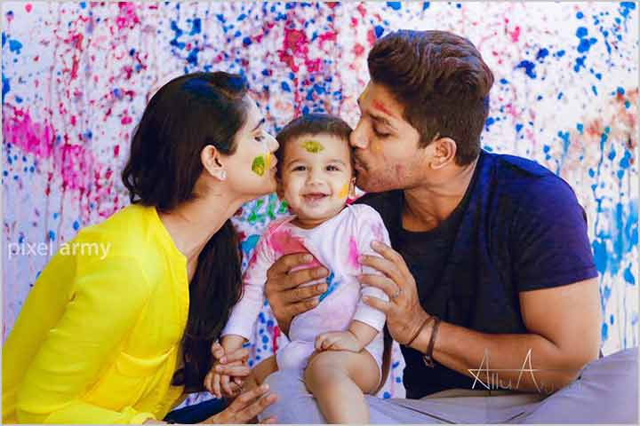 Allu Arjun And Sneha Reddy - Made For Each Other!
