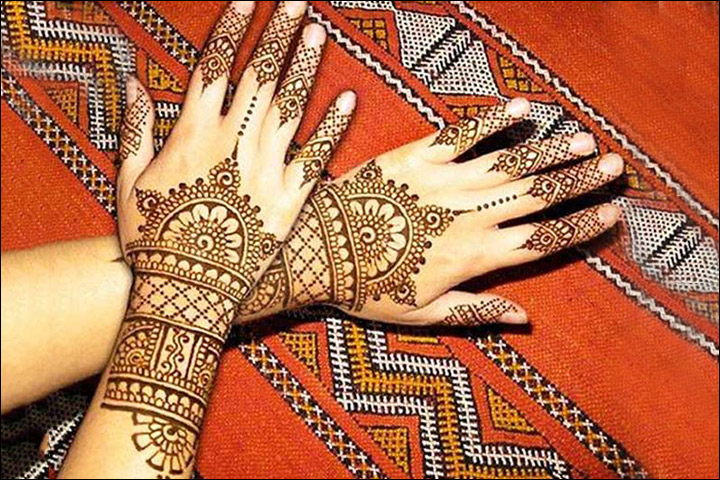 26 mind blowing indian mehendi designs to inspire you weetnow 12 elbow design with flower and leaves solutioingenieria Image collections