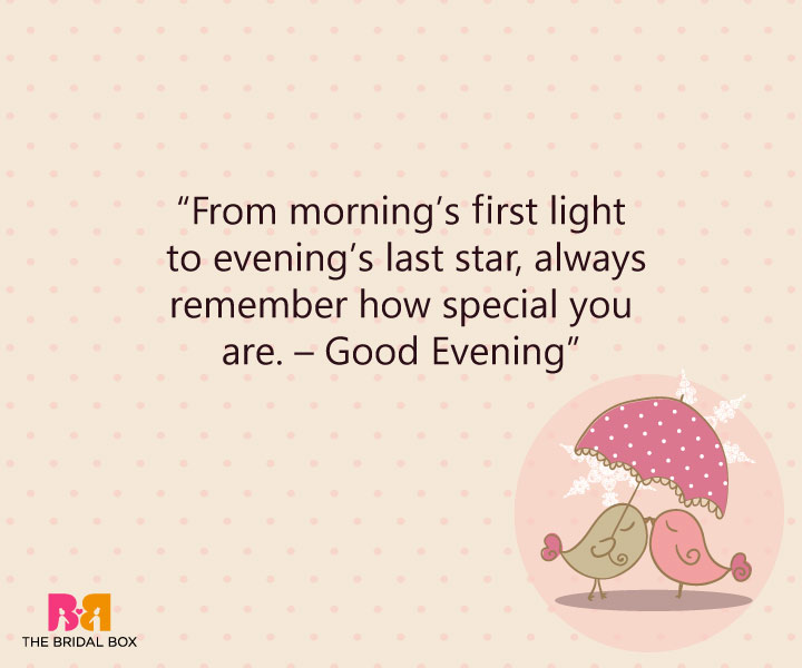 15 Lovey-Dovey Good Evening Love SMS Texts Perfect For Sunsets Good Night Quotes For Her