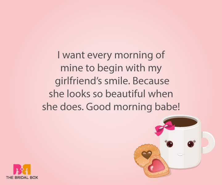 12 Endearing Good Morning Love Sms For Girlfriend To Make Her Smile