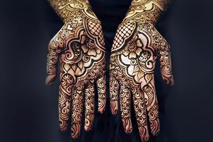 10 Latest Arabic Black Mehndi Designs You Can T Miss