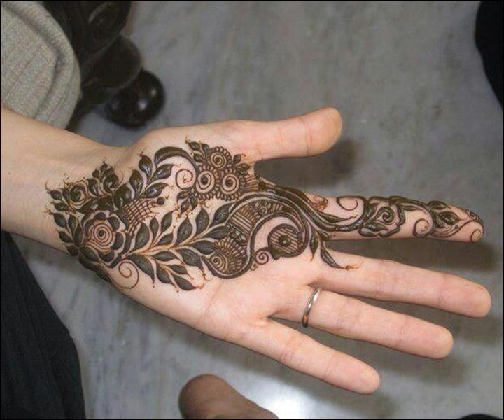 Mehndi Designs And Hairstyles : Latest mehndi designs top bridal styles