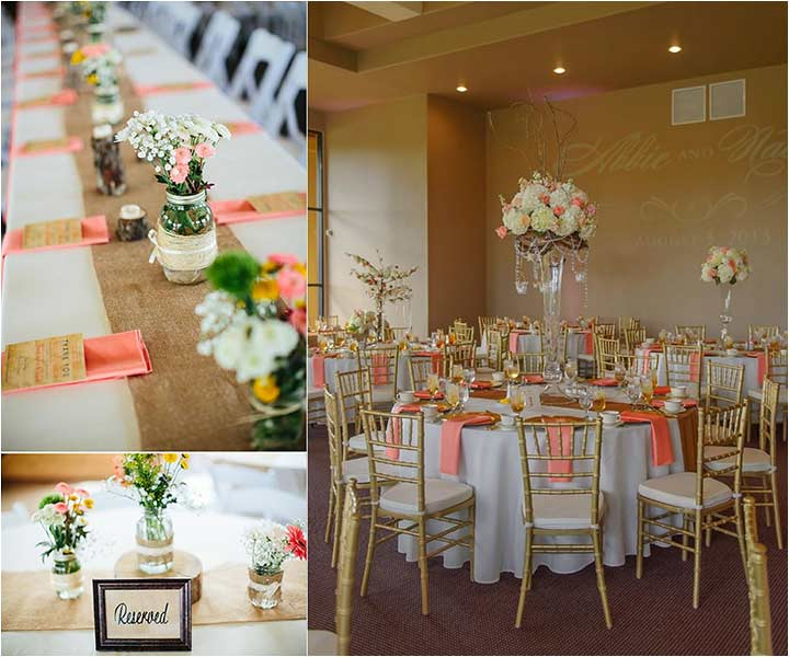 10 Cheerful Coral Wedding Decorations That Are Perfect For