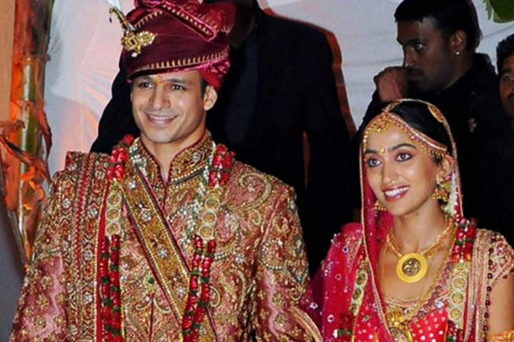 Vivek Oberoi Wedding With Priyanka Alva Inside Wedding