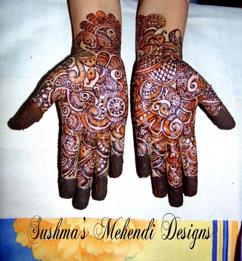 Mehndi Designs Jobs In Hyderabad : The most skilled mehndi artist in hyderabad thebridalbox