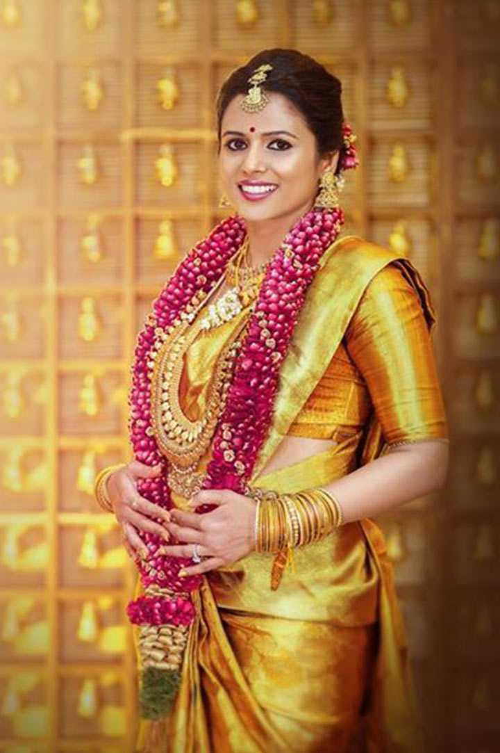 South Indian Bridal Makeup: 30 Bridal Makeup Ideas & Expert Tips