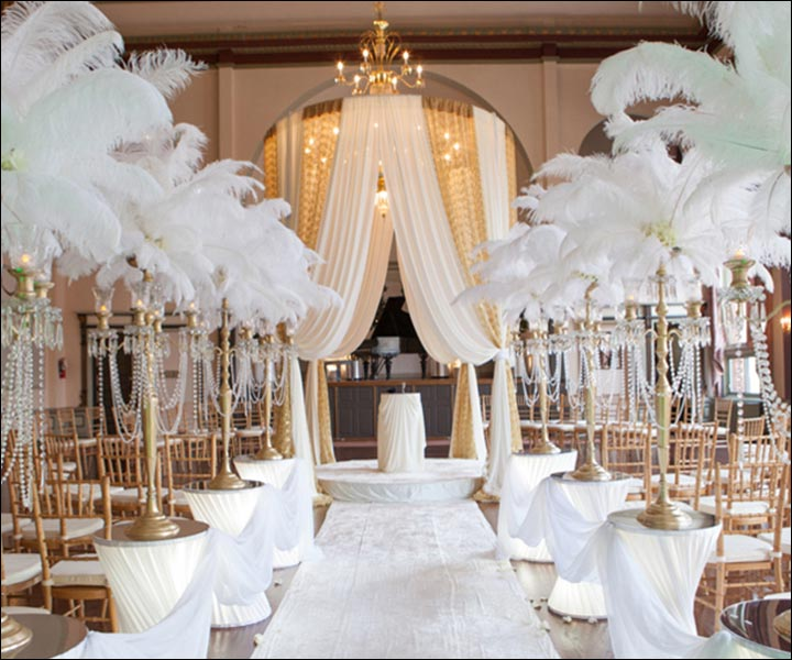 Christian wedding stage decorationtop 10 ideas to inspire yours christian wedding stage decorations the great gatsby junglespirit Gallery
