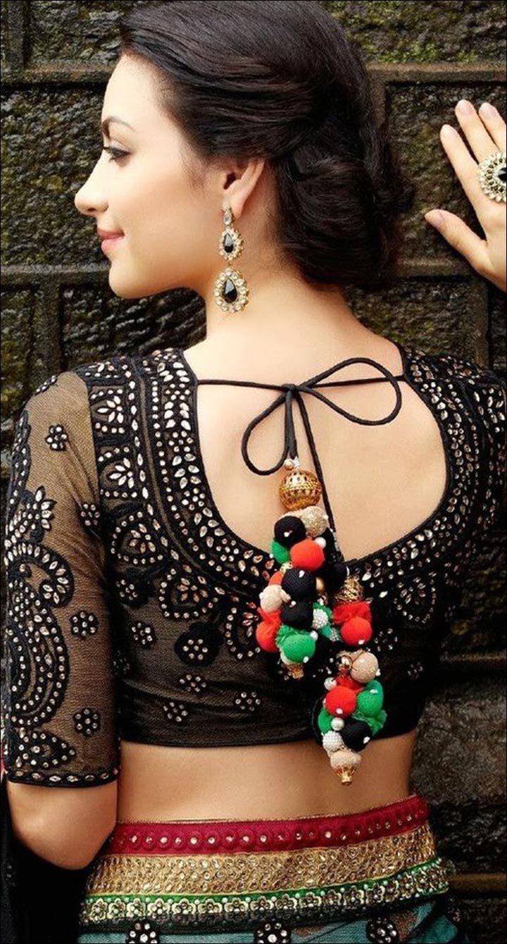 Blouse Back Neck Designs Top 54 Trendy Designs