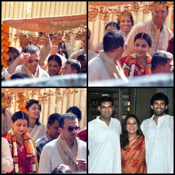 Vidya wedding ceremony