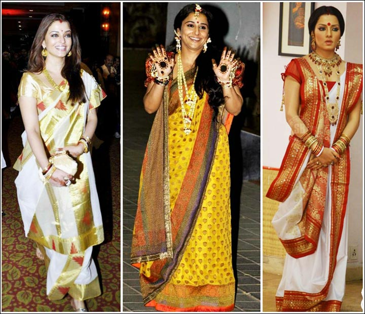 How To Wear Bridal Saree 10 Styles With Video Tutorials Ace The