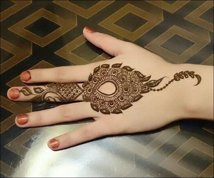 Mehndi Designs Latest Back Hand : Simple mehndi hand designs hot girls wallpaper