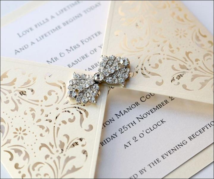 Fancy Wedding Invitations.9 Fancy Wedding Invitation Cards That Ll Leave Your Guests Stunned