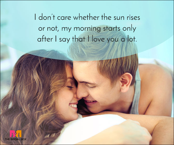 Good Morning Sunday Kiss Images : Romantic good morning love quotes for the perfect start