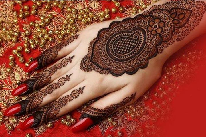 Mehndi Hand Patterns Diwali : Intricate and exclusive shaded mehandi designs