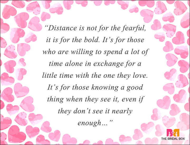 35 long distance love quotes that cut through time and space