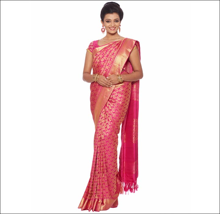 Kerala Wedding Bridal Images: Kerala Wedding Sarees: 16 Saree You'll Want To Steal