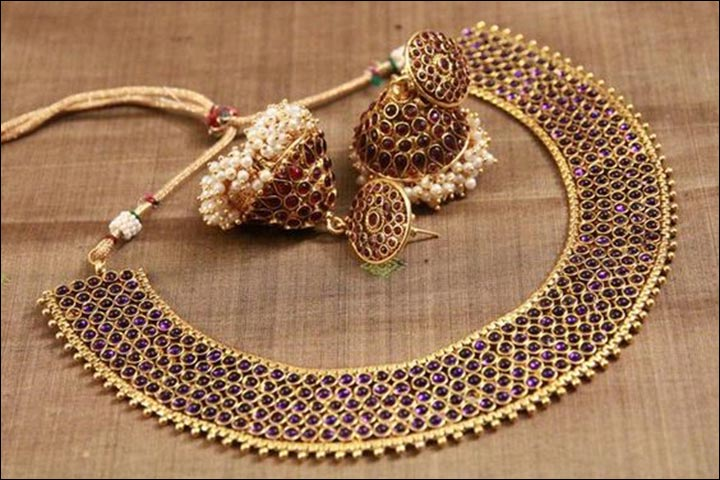 South Indian Jewellery Sets Matching Necklace Earrings