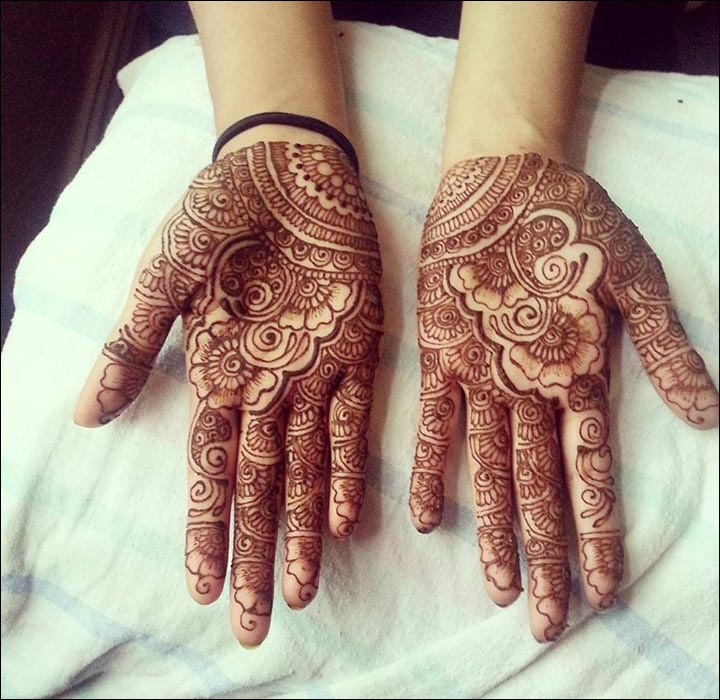 Arabic-Style-Rose-Mehndi-Design
