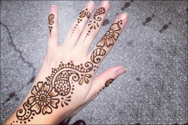 Mehndi Easy Design For Kids : Top simple and easy beautiful mehndi designs for kids