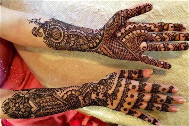 bridal mehndi designs for full hands front