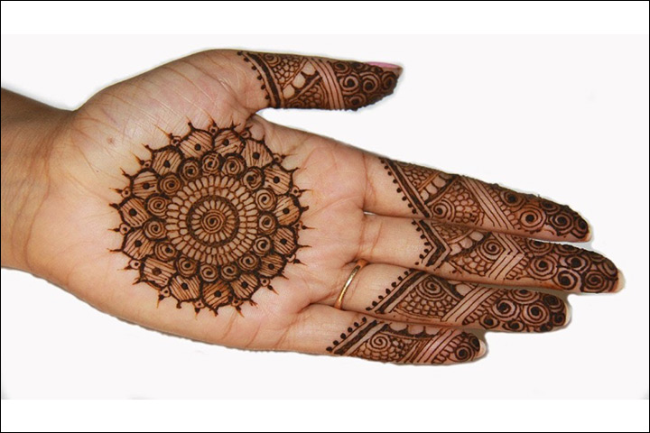 Mehndi Designs Palm : Palm mehndi designs from simple to stunning