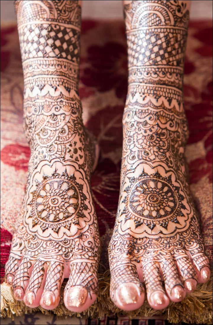 Intricate Mehndi Patterns : Indian mehndi designs that are beautifully traditional
