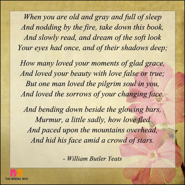 7 Romantic Love Poems By Famous Poets