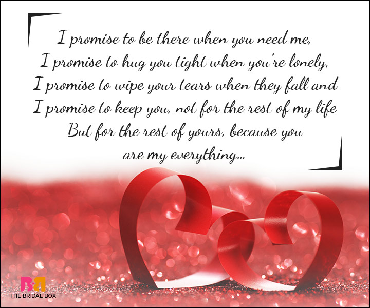 I Promise Quotes New 10 Beautiful And Heartfelt Love Promise Quotes