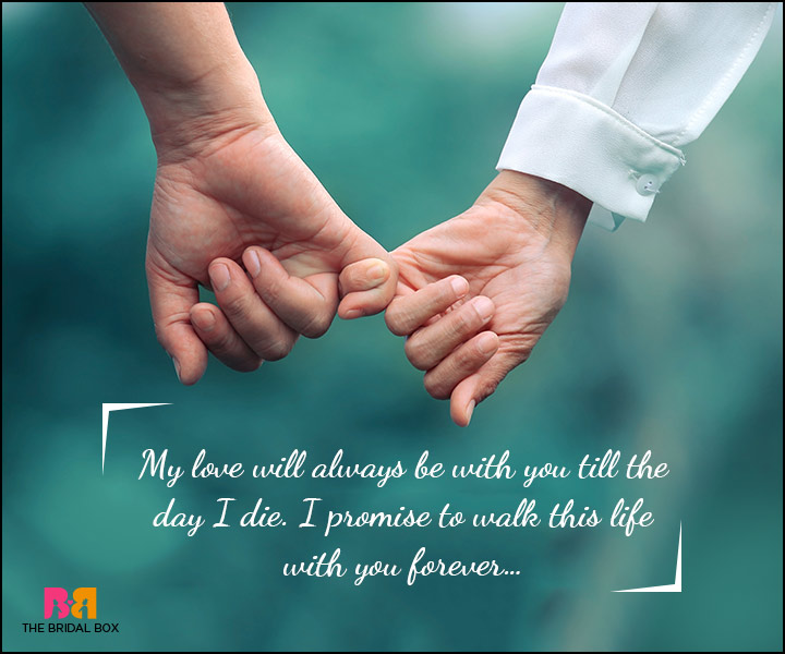 i promise to always love you quotes