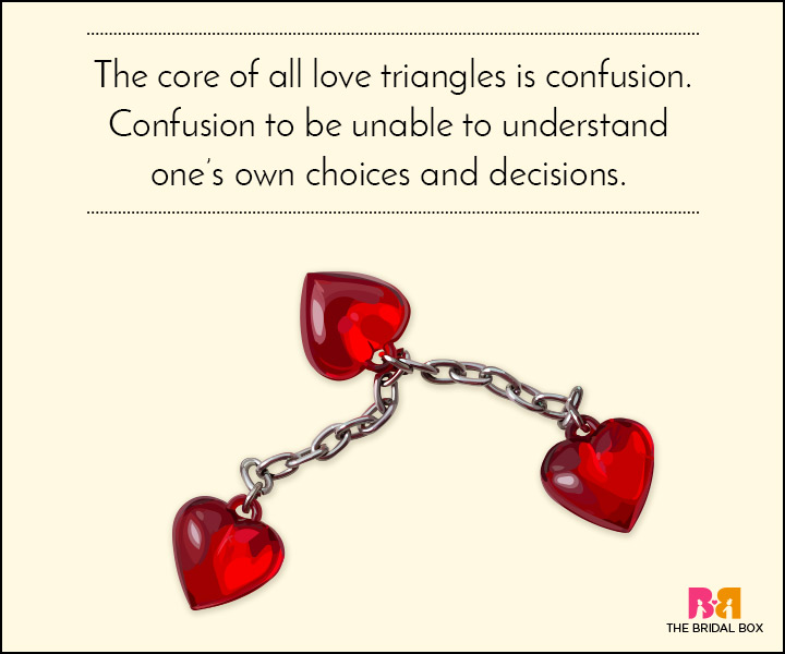 10 Love Triangle Quotes That Prove Polyamory Is No Joke