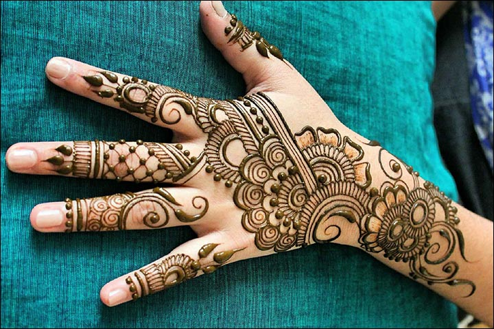 Dubai Arabic Mehndi Henna Design: Easy And Enthralling Arabic Mehendi Designs- The Best Of
