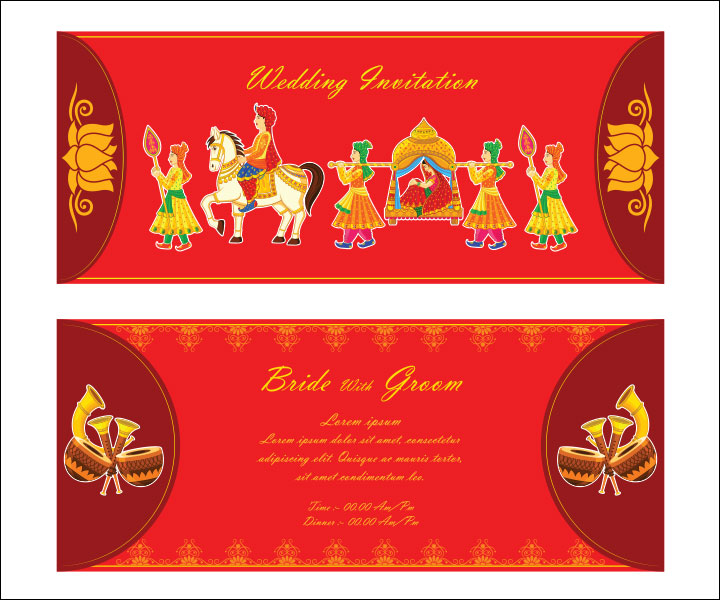 Hindu Wedding Invitation Powerpoint Templates ~ Matik for